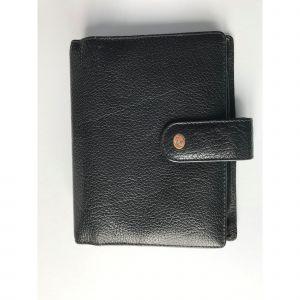 Portefeuille MAC DOUGLAS cuir noir