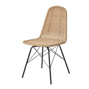 Chaise imitation rotin comparer 21 offres - Chaise jardin resine tressee ...
