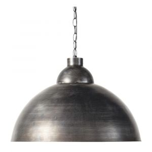 Suspension indus en métal brossé D50