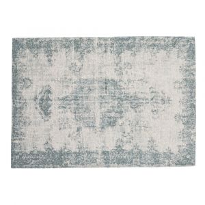 Tapis bleu 155 x 230 cm VILLANDRY