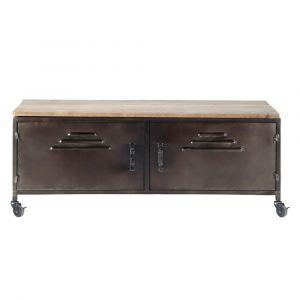 meuble tv maisons du monde comparer 108 offres. Black Bedroom Furniture Sets. Home Design Ideas