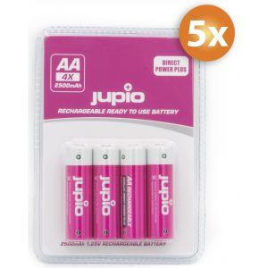 Paquet de 20 piles AA Jupio Direct Power Plus 2500mAh