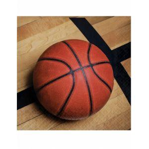 18 Serviettes en papier Ballon de basket 33 x 33 cm Taille Unique
