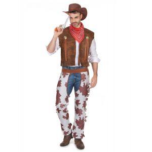 Déguisement cowboy classique homme - Taille: XL