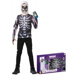 Coffret classique Skull Trooper Fortnite adolescent - Taille: 9 à 10 ans (129 à 140 cm)