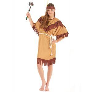 Déguisement grande taille indienne bicolore femme - Taille: XXL