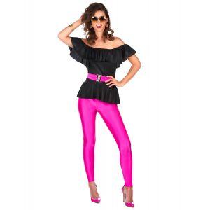 Déguisement rétro années 80 femme - Taille: XL