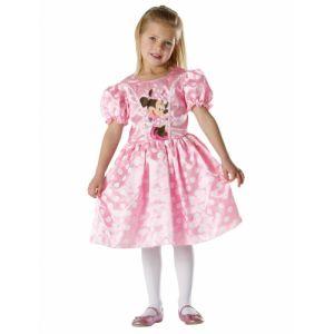 Déguisement classique rose Minnie fille 7 à 8 ans (128 cm)