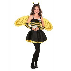 Déguisement abeille fille - Taille: S 4-6 ans (110-120 cm)