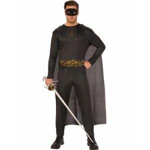 Déguisement Zorro adulte XL
