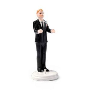 Figurine marié porteur blond Taille Unique