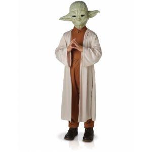 Déguisement luxe Yoda Star Wars  enfant avec masque 7 à 8 ans (117 à 128 cm)