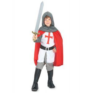 Déguisement chevalier croisé garçon - Taille: M 7-9 ans (120-130 cm)