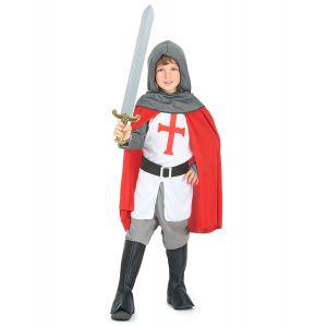 Déguisement chevalier croisé garçon - Taille: S 4-6 ans (110-120 cm)