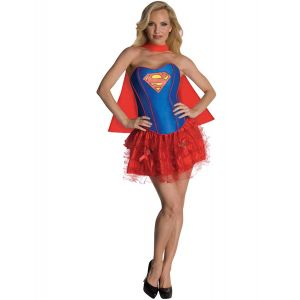 Déguisement Supergirl sexy femme - Taille: Large