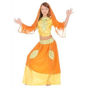 Déguisement indienne bollywood enfant - Taille: 8-10 ans (146 cm)