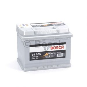Batterie voiture haute performance BOSCH S5 - S5005 - 12V (63Ah-610A)
