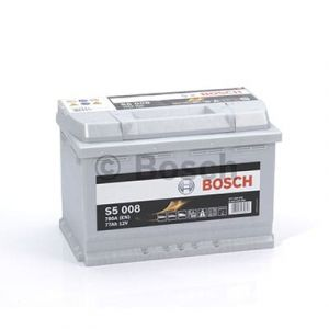 Batterie voiture haute performance BOSCH S5 - S5008 - 12V (77Ah-780A)