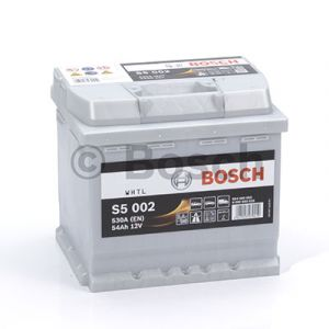 Batterie voiture haute performance BOSCH S5 - S5002 - 12V (54Ah-530A)