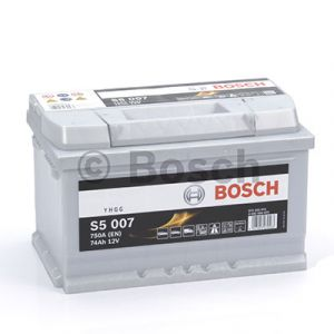 Batterie voiture haute performance BOSCH S5 - S5007 - 12V (74Ah-750A)