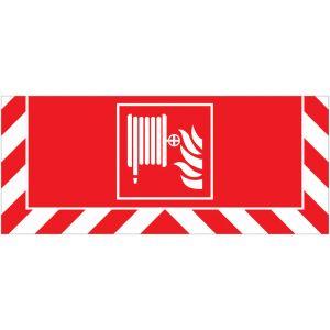 Signalisation au sol incendie Robinet d'incendie armé