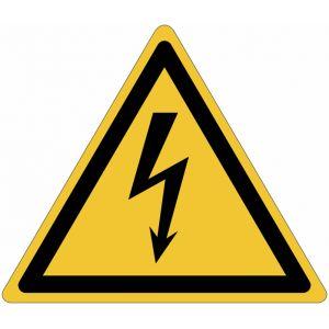 Panneau ISO 7010 Danger électricité