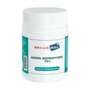 Alcool isopropylique 70% flacon 60 mL