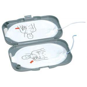 Electrodes/patchs défibrillateur HeartStart FRX