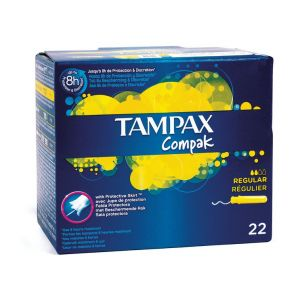 Tampons Tampax Compak avec applicateur