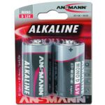 Piles Ansmann Mono D Red-Line lot de 2