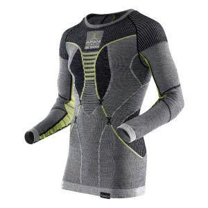 Maillot à manches longues Merino Fastflow X-Bionic gris