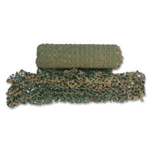 Filet de camouflage rouleau basic 2,4x78 m woodland