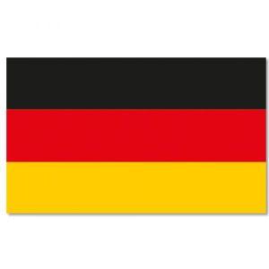 Drapeau magnétique Allemagne 45x30 cm