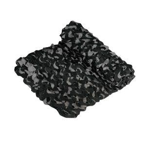 Filet de camouflage Crazy Camo noir 6 x 2,4 m