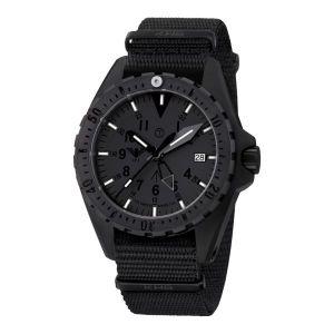 Montre KHS Missiontimer 3 Titan GMT XTAC bracelet otan noir