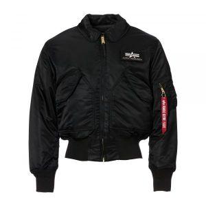 Blouson aviateur Alpha Industries CWU noir