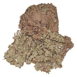 Filet de camouflage britannique khaki comme neuf découpé