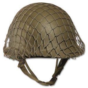 Filet de camouflage pour casque en acier US kaki