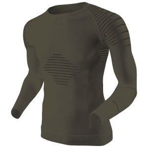 X-Bionic Maillot manches longues Invent vert sauge/anthracite
