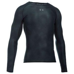 Under Armour Compression Shirt à manches longues HeatGear noir