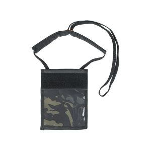 Pochette Tour de Cou Neck Wallet multicam black