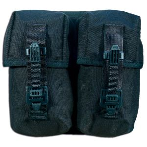 Porte chargeurs double TacGear noir