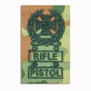 Insigne tireur d´élite Expert Rifle/Pistol flecktarn