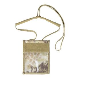 Pochette Tour de Cou Neck Wallet mandra tan