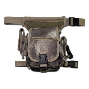 Sacoche ventrale avec fixation ceinture et jambe HDT-camo