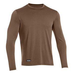 Shirt à manches longues Under Armour Tactical Heat brun
