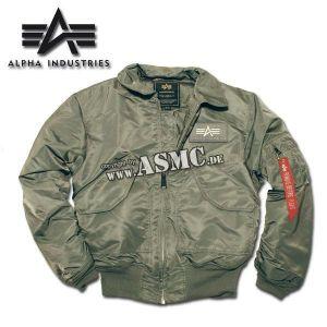 Blouson aviateur Alpha Industries CWU gunmetal