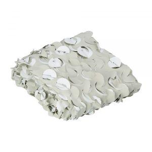 Filet de camouflage blanc 3 x 2 m