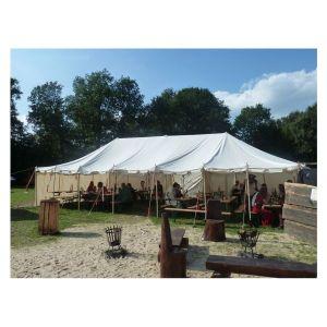 LARP Tente Médiévale 6 x 12 m sans Armature