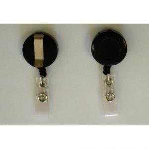 Enrouleur zip porte-badge - Lot - Porte Badges - Lot de 10 pièces